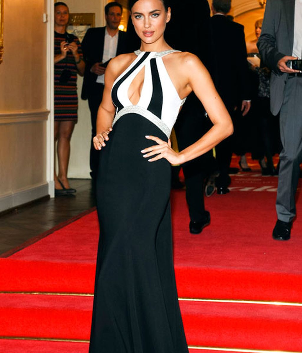 Irina Shayk, espectacular de gala