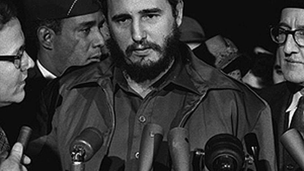 Castro a su llegada a Washington en abril de 1959, con motivo de su visita a Estados Unidos.