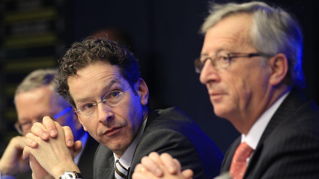 Jeroen Dijsselbloem y Jean-Claude Juncker