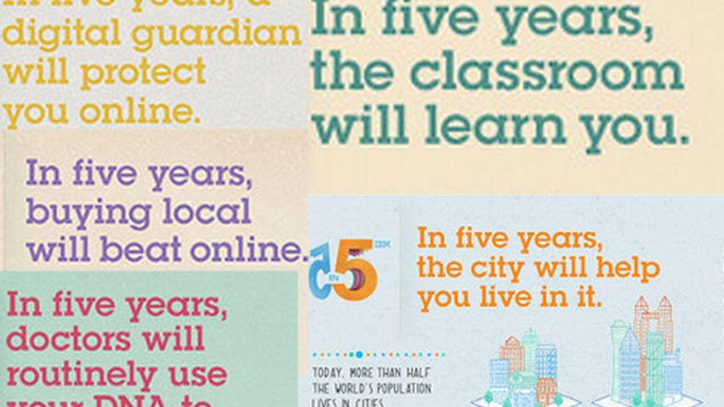 ¿Cómo será el futuro en cinco años?