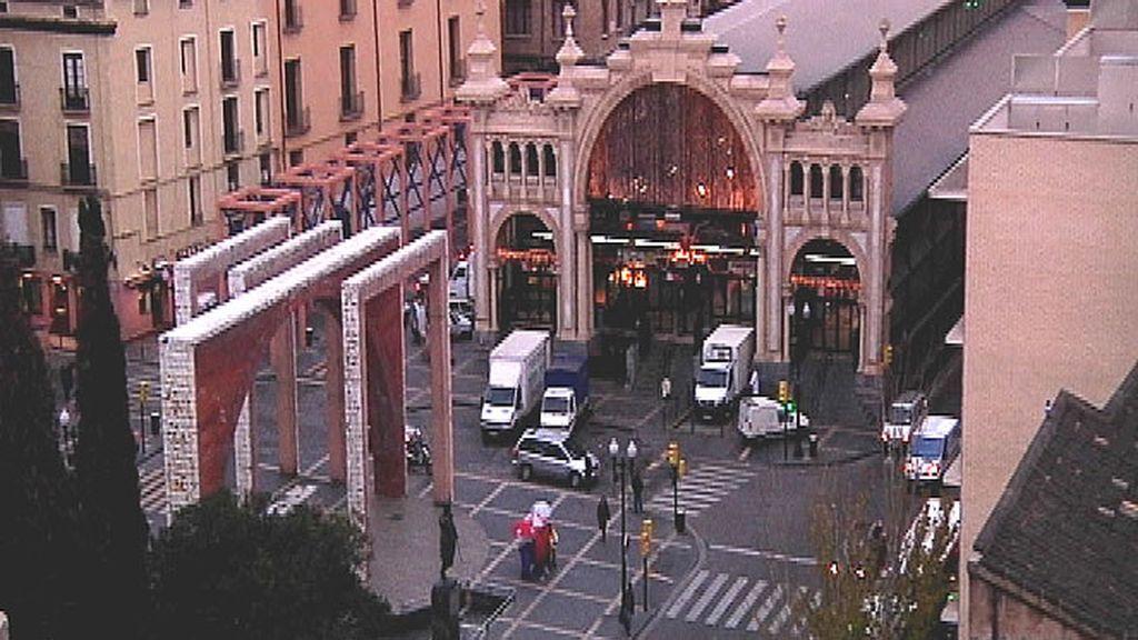 Plaza del Mercado de Zaragoza