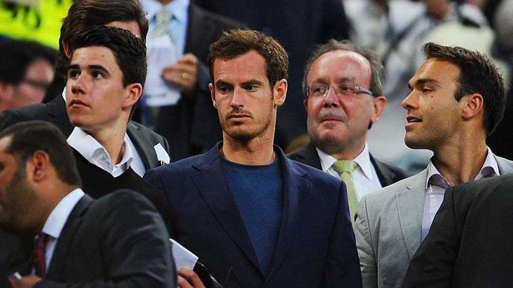 Murray y los Espargaró no quisieron perderse el pase del Barça a semis