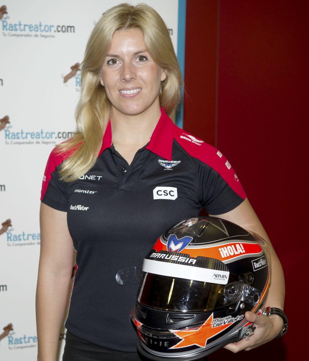 María de Villota, primera mujer española piloto de Fórmula 1