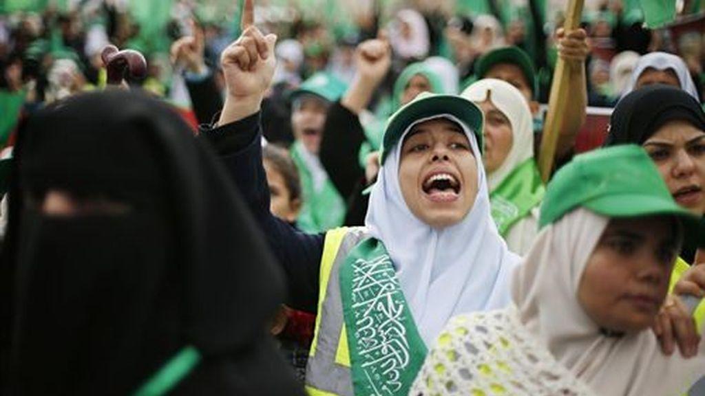 Comienza en Gaza la celebración del 25 aniversario de Hamás con la presencia de su exiliado líder