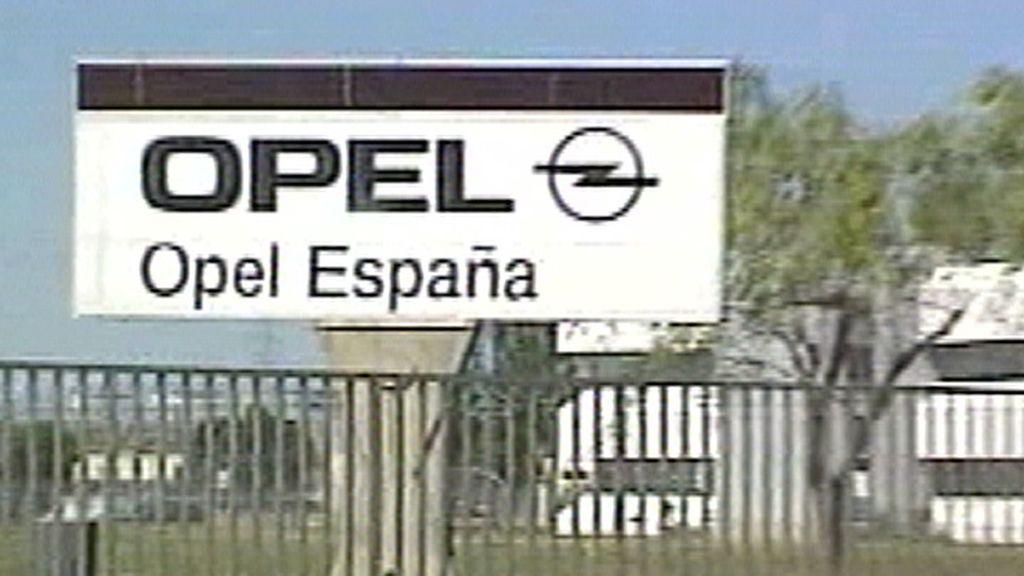 Planta Opel en Figueruelas, Zaragoza