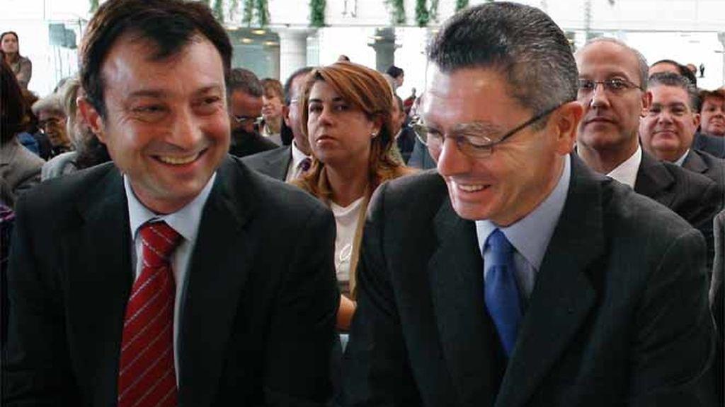 Manuel Cobo y Alberto Ruiz-Gallardón