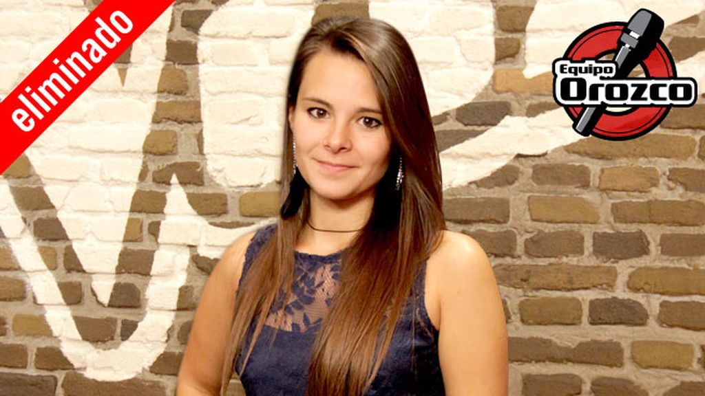 Rocío Rivas, 23 años, equipo Orozco | Eliminada