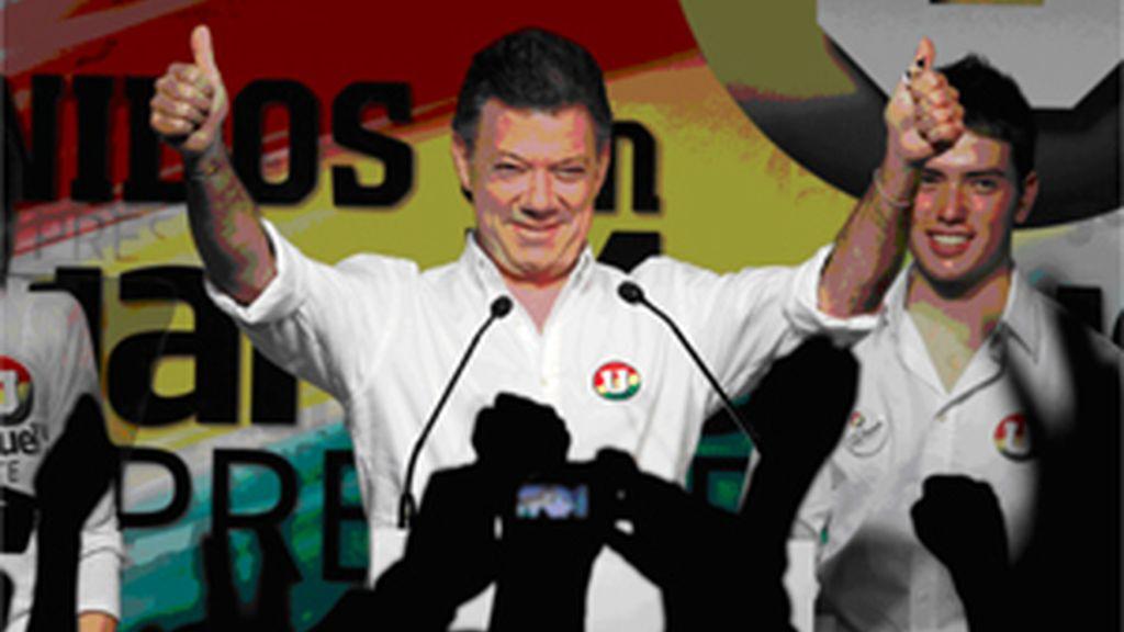 """Santos pretende una Colombia """"en paz"""" con Venezuela"""