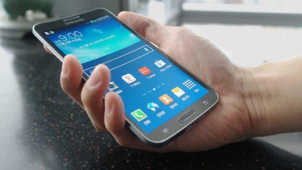 Samsung presenta Round, el primer 'smartphone' con pantalla curvada
