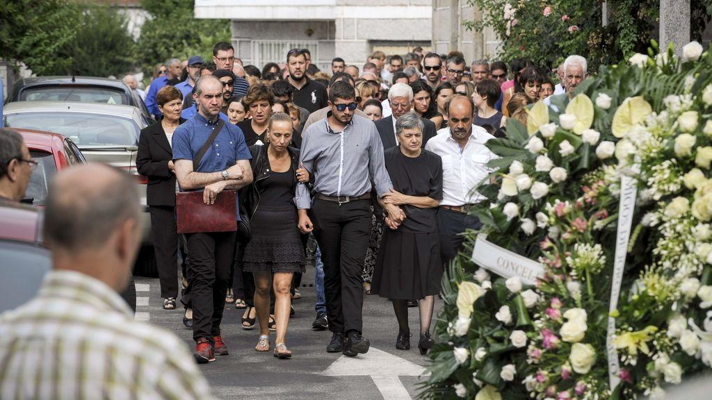Ourense despide a los fallecidos en la explosión de la pirotecnia