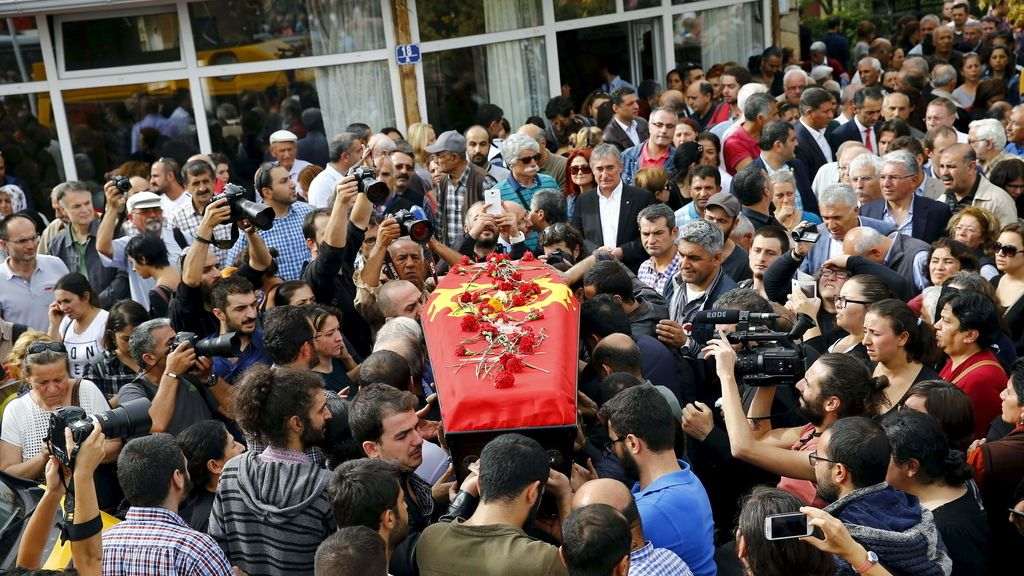 Los supuestos terroristas del ataque de Ankara estaban fichados por la policía
