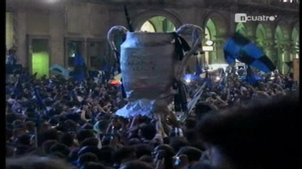 El Inter de Milán campeón de la Champions League
