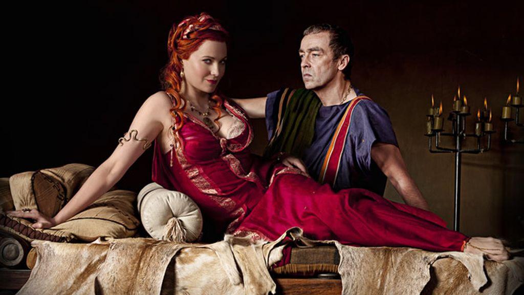 Batiatus y Lucretia
