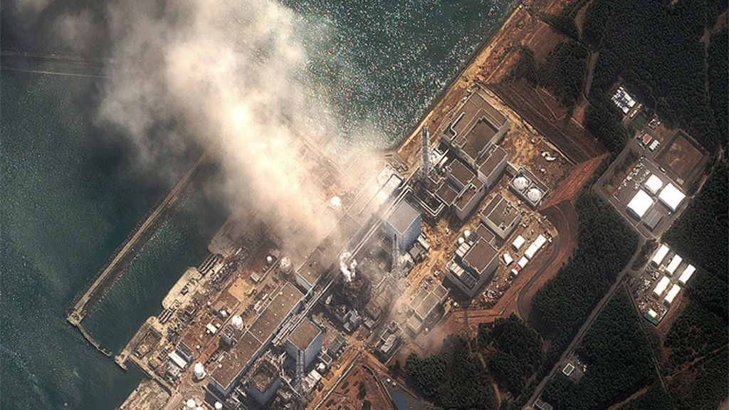 El complejo nuclear de Fukushima