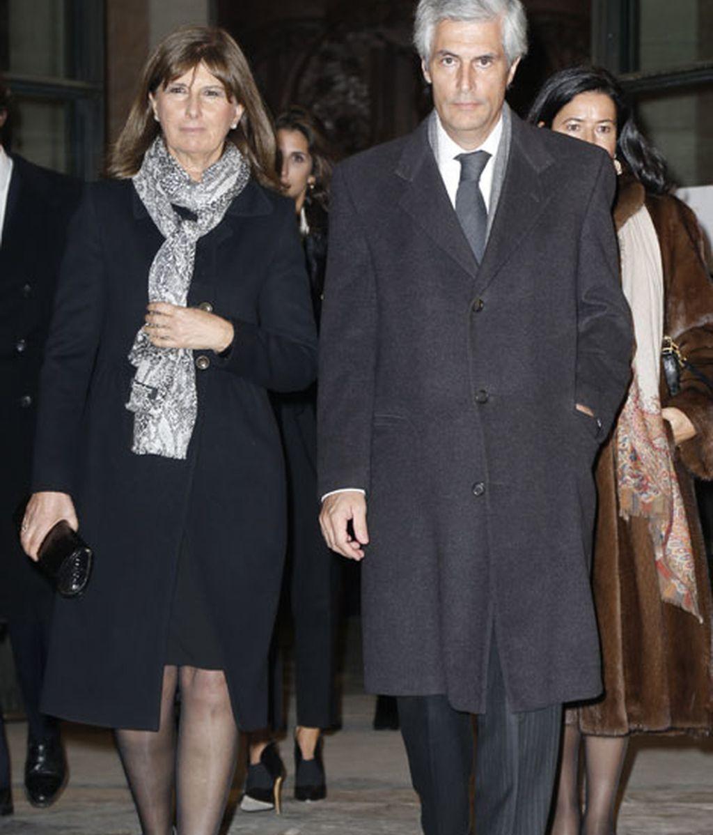 Aldonso Suárez Illana también quiso apoyar a la familia de Alba