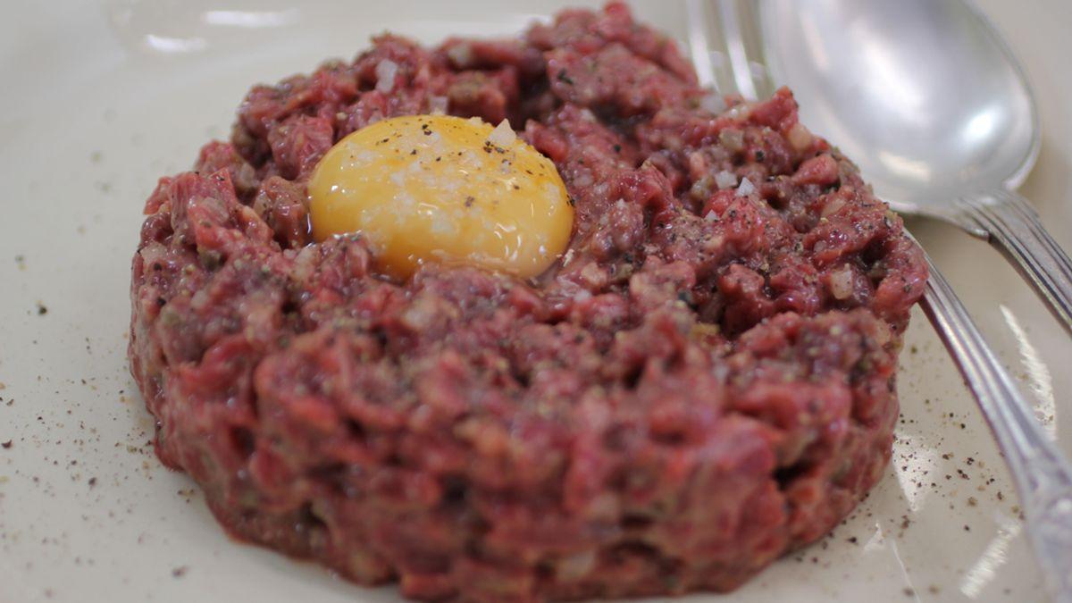Filete tártaro de carne