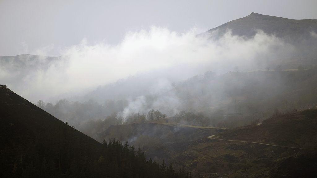 Incendio en Cantabria