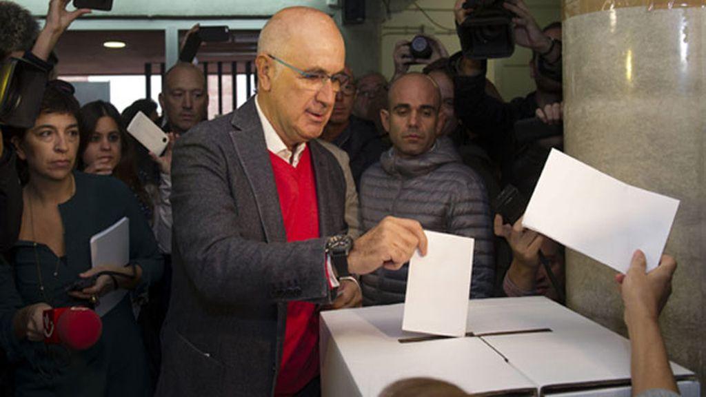 El presidente de Unió Democrática de Catalunya (UDC), Josep Antoni Duran Lleida