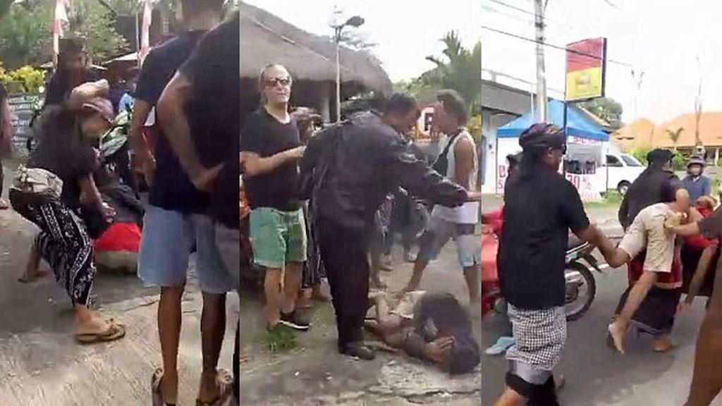 ladrones Bali, paliza ladrones, Indonesia