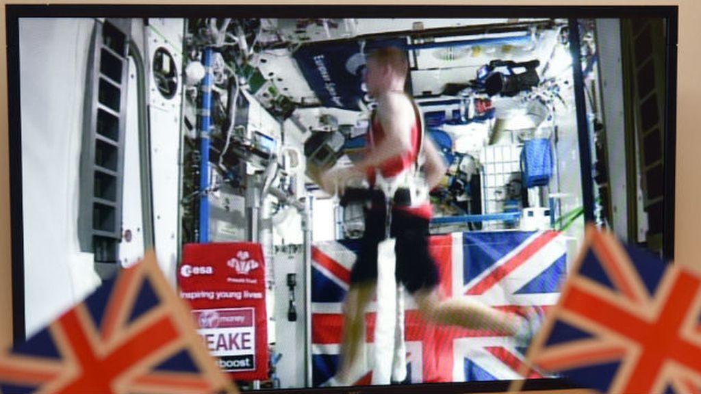 El astronauta Tim Peake