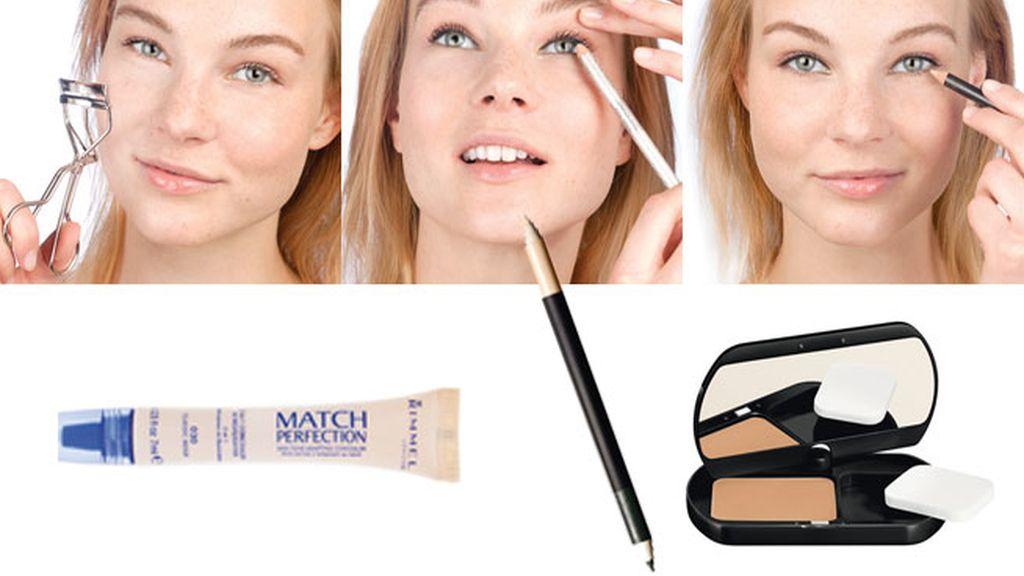 Así es el maquillaje invisible: la técnica del Tightline