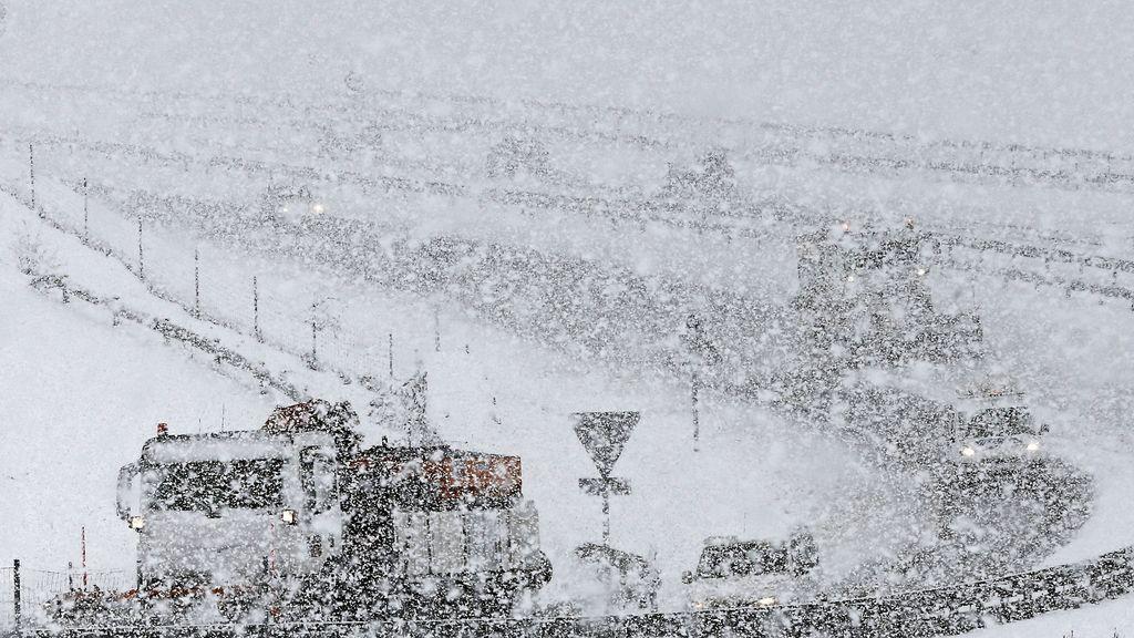 Alerta por nevadas