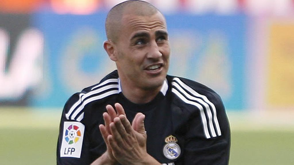 Fabio Cannavaro se despide del Madrid