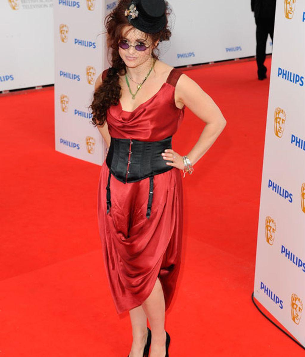 Helena Bonham Carter no decepciona: Oscar a la más atrevida