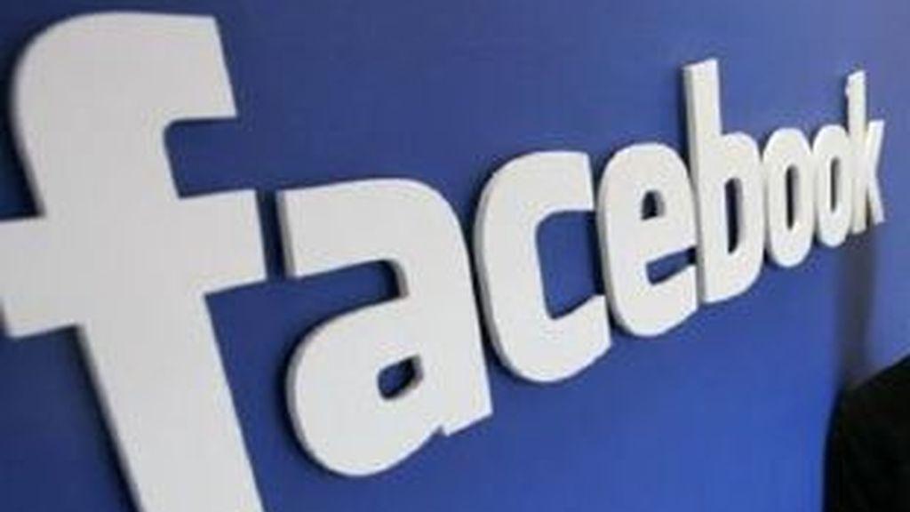 Imagen del logo de la red de Internet Facebook.