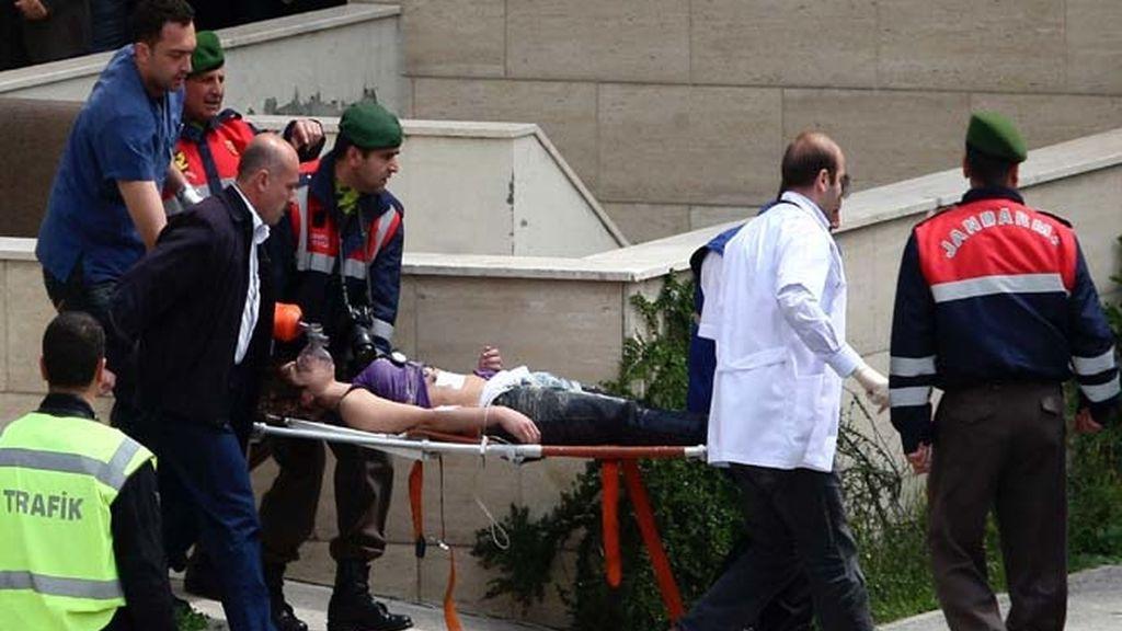 Uno de los diez heridos tras un atentado en Turquía
