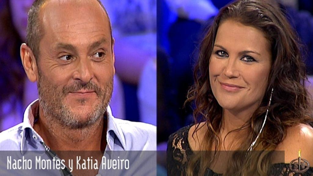Nacho Montes y Katia Aveiro