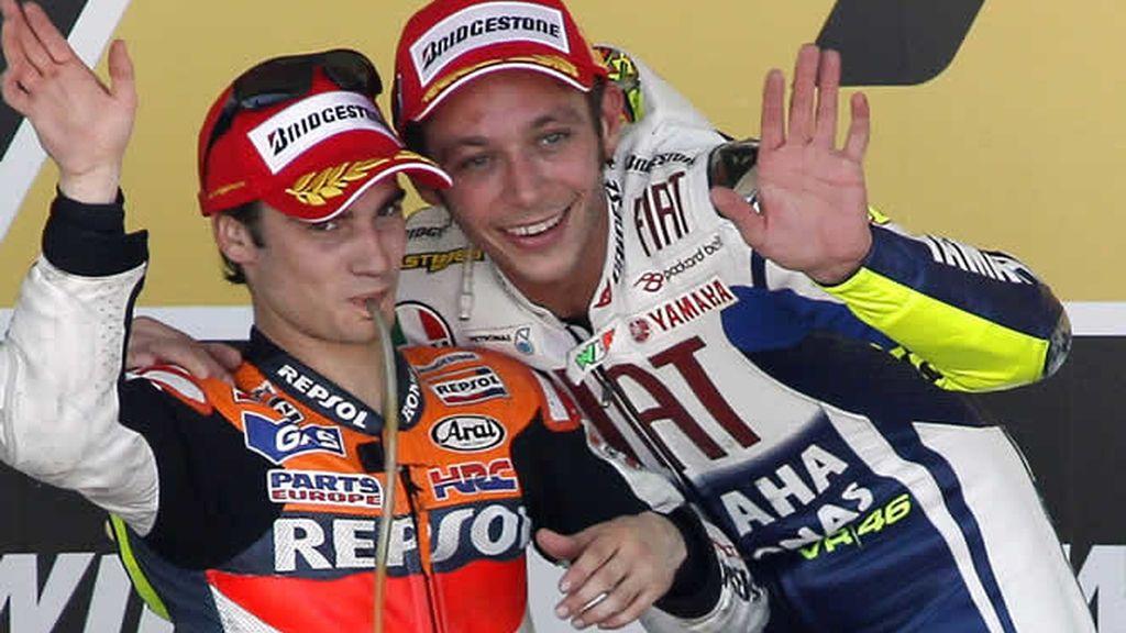 Rossi, el rey en Jerez; Pedrosa, segundo