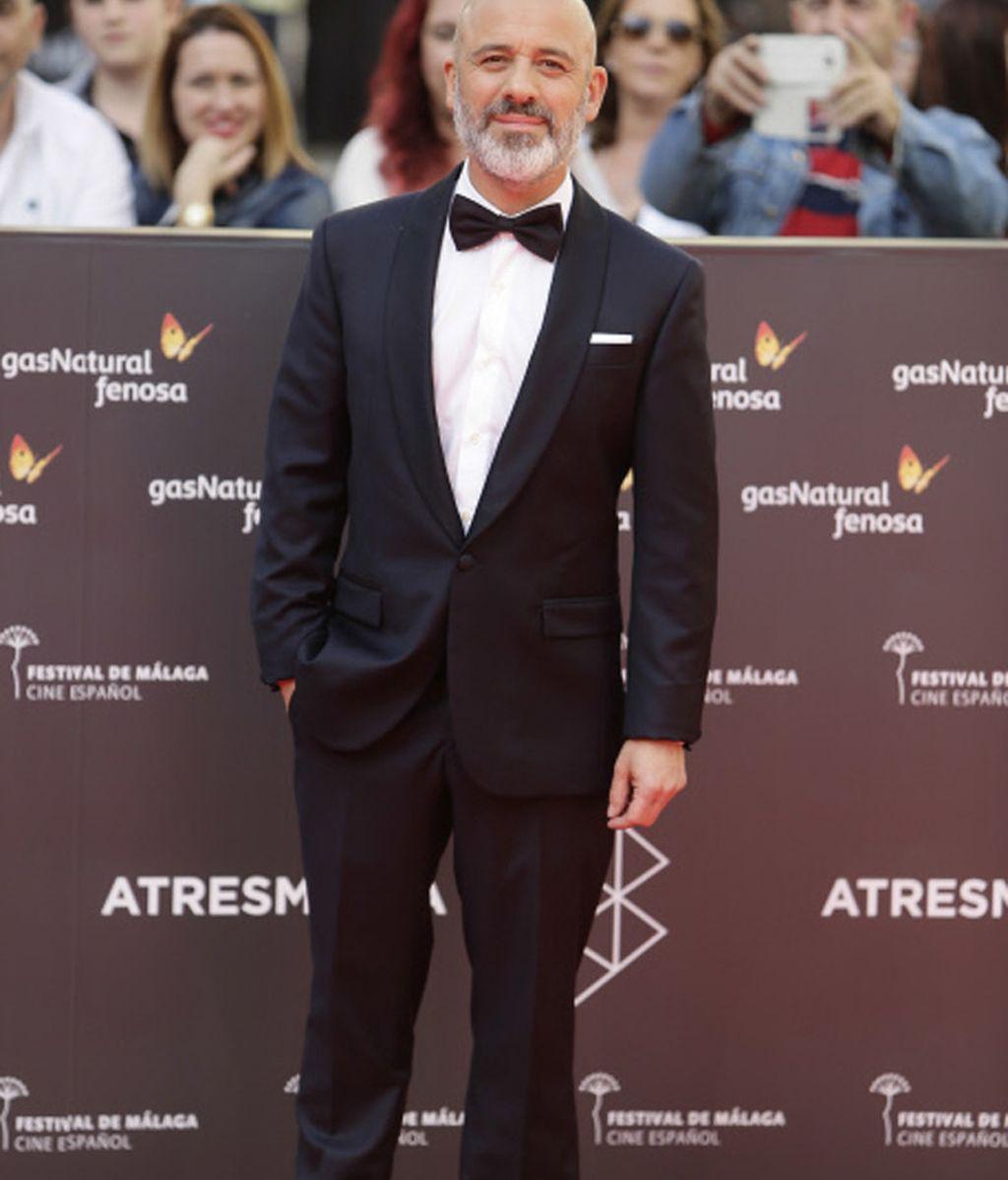 Javier Gutiérrez en la presentación de la 19 edición del Festival de Cine de Málaga