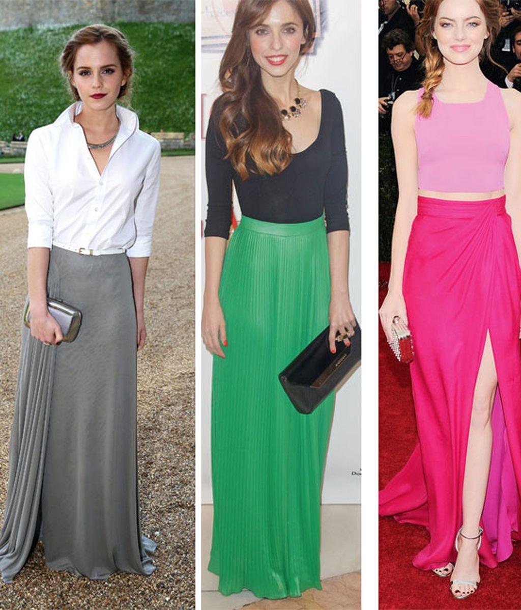 ¿Por qué debes comprarte una falda larga este verano?
