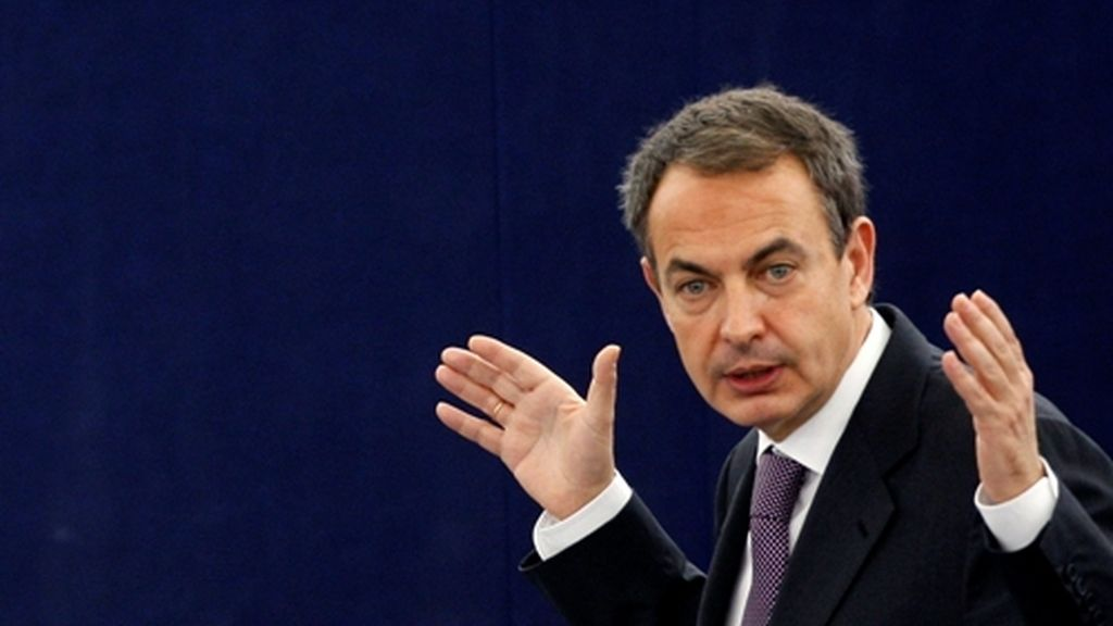 Zapatero se estrena en la Eurocámara