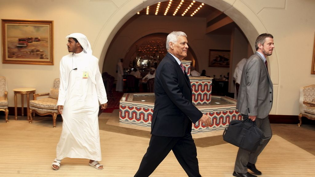 El secretario de la OPEC en Doha