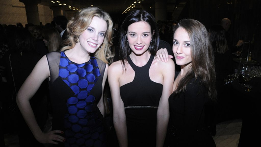 Carolina Bang, Dafne Fernández y Silvia Alonso