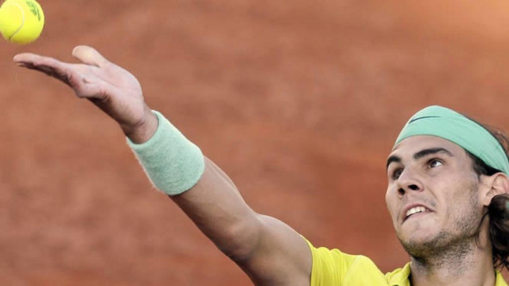 Rafa Nadal sigue imponiendo su juego en Roma