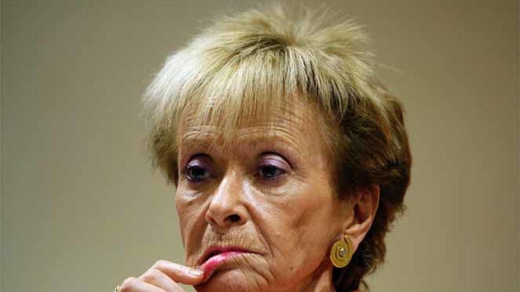 La vicepresidenta primera del Gobierno, María Teresa Fernández de la Vega.