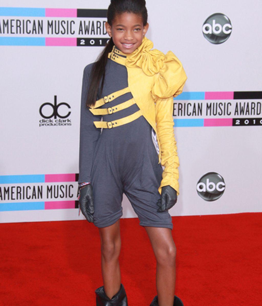 Celebrities y transparencias en los American Music Awards