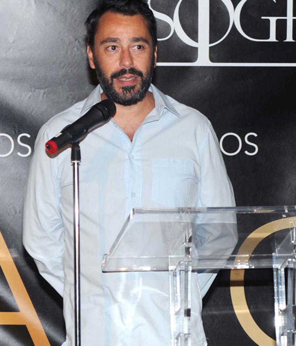 Juanjo Oliva inauguró esa noche su tienda