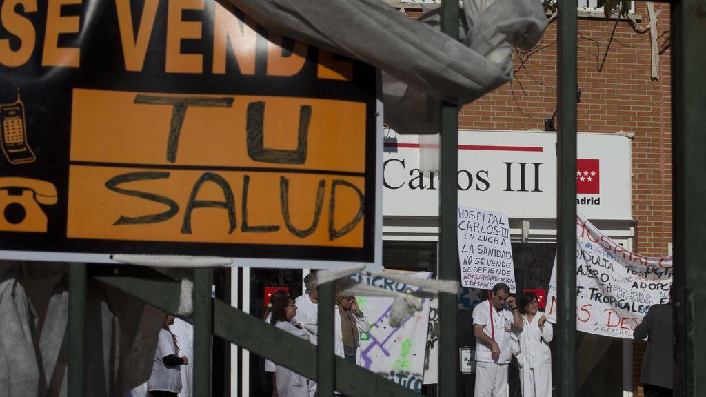 Sigue la lucha de los médicos madrileños