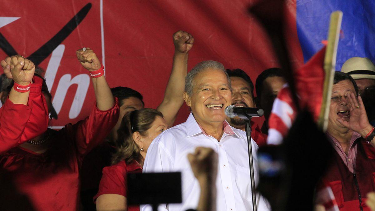 Salvador Sanchez, candidato a las presidenciales de El Salvador