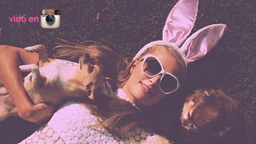 El 'Easter Day' de Paris Hilton es rosa (como no)
