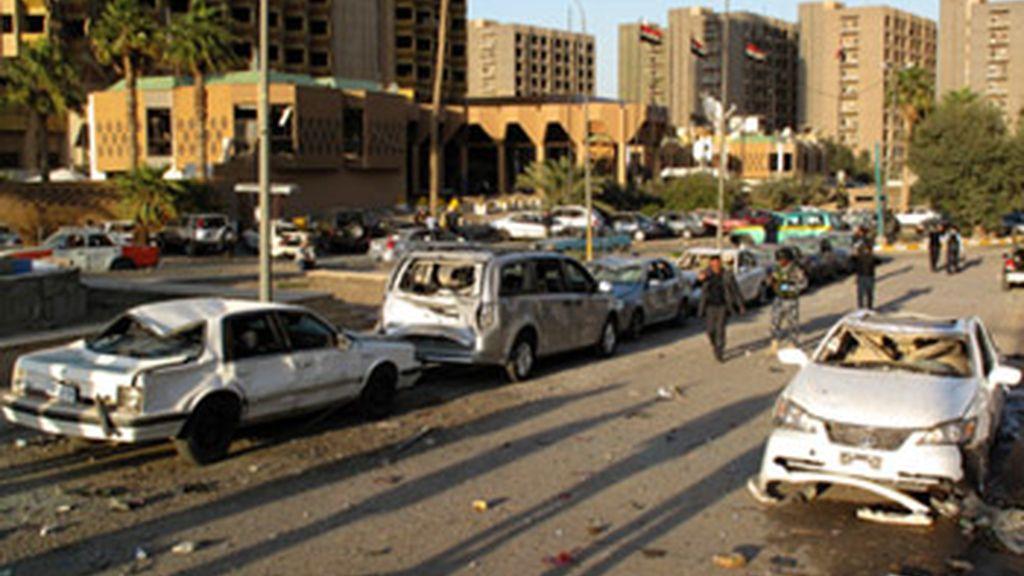 Al menos 36 muertos en un múltiple atentado contra tres hoteles de Bagdad