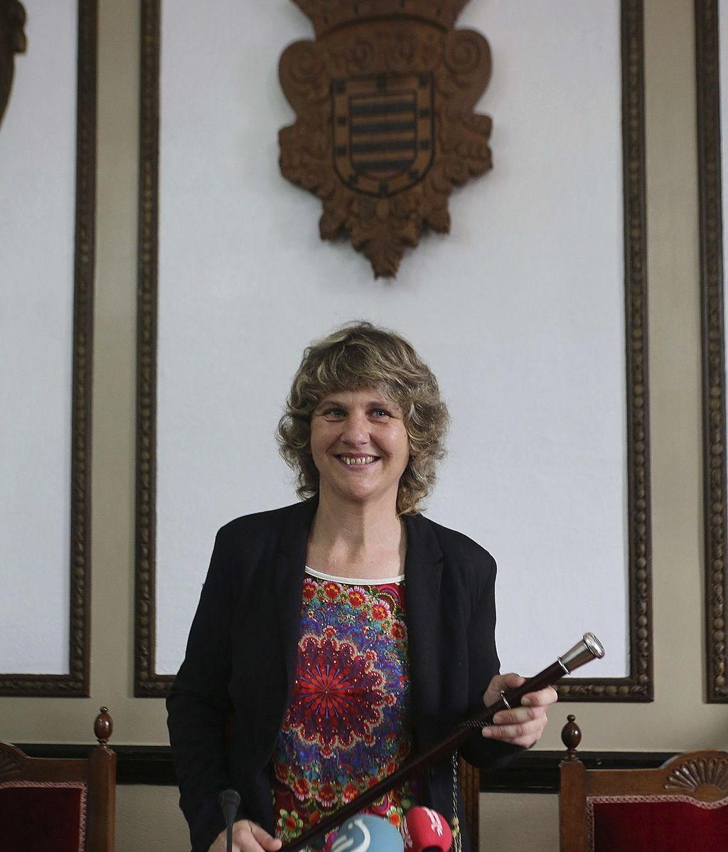Ane Karrere, alcaldesa de Andoain