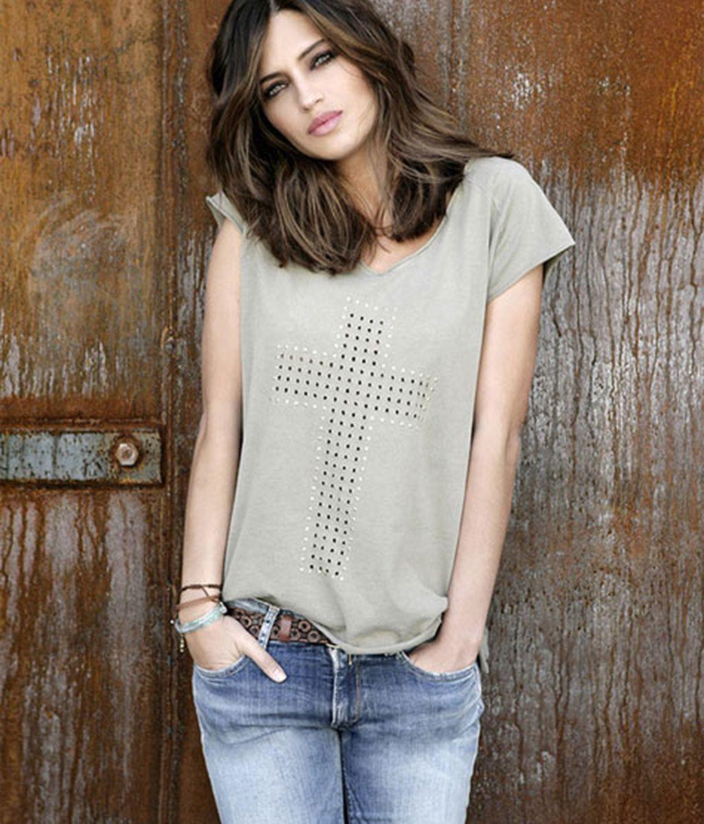 Es la segunda vez que la presentadora diseña una camiseta con The Hip Tee