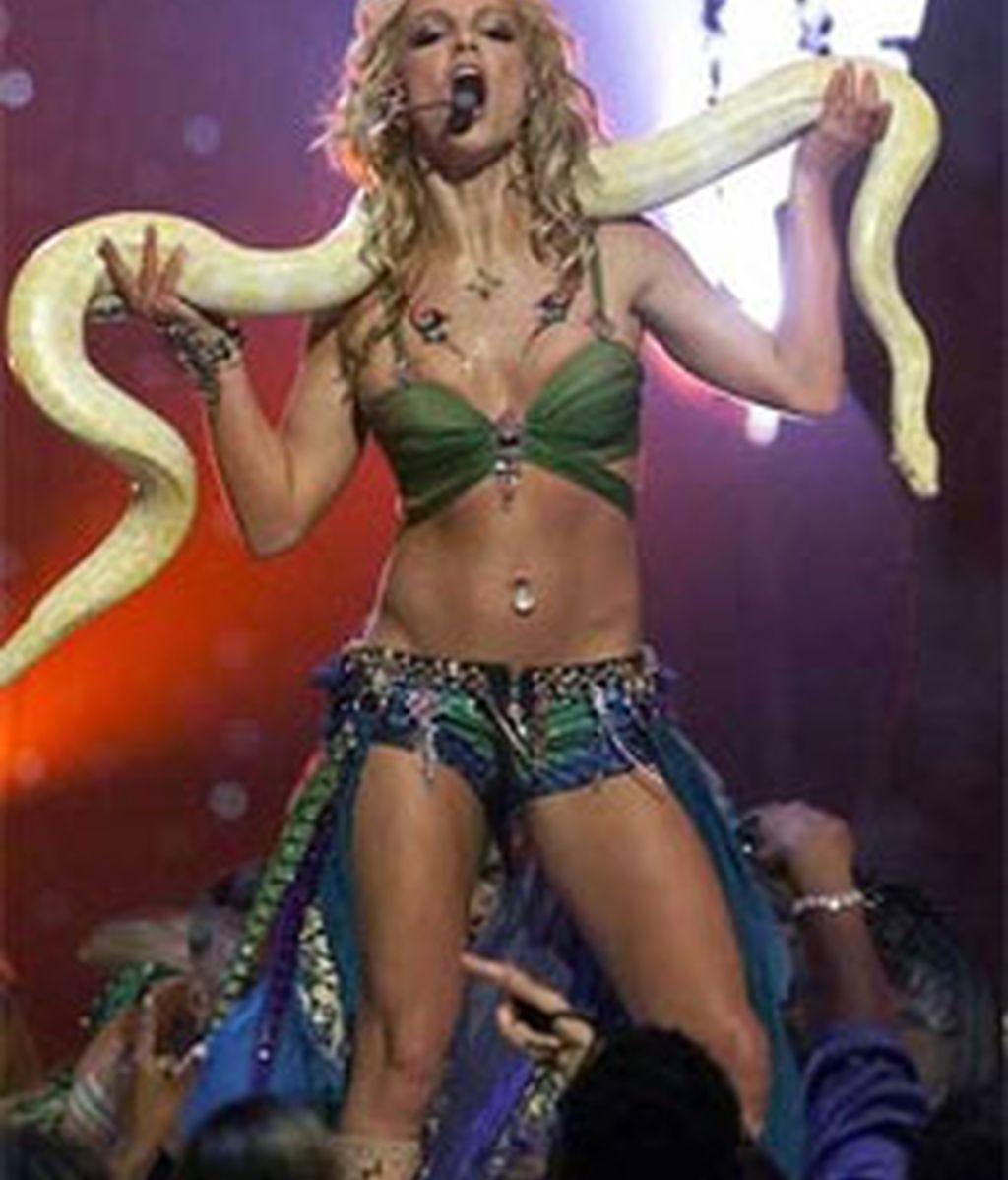 Britney Spears interpretaría el personaje de una bailarina erótica asesina en la película de Tarantino. Foto: AP