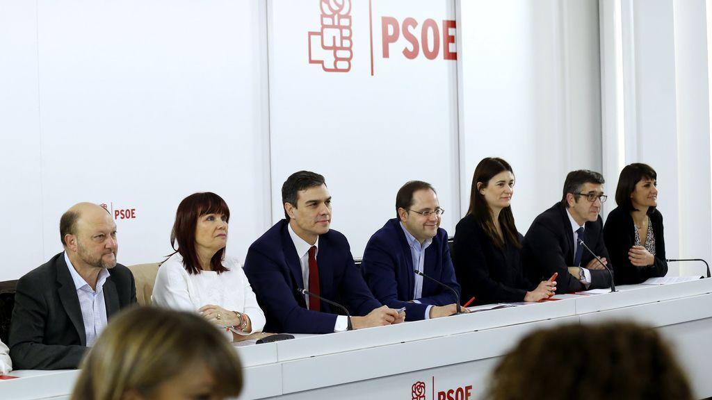 El PSOE reúne a su ejecutiva tras el principio de acuerdo con Ciudadanos