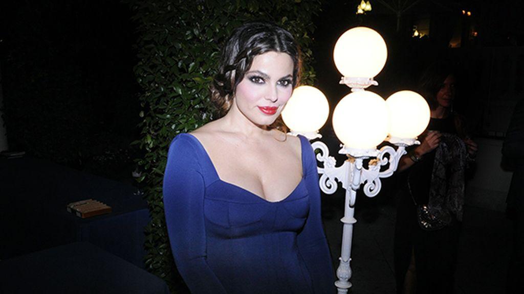 Marisa Jara, muy elegante con este diseño de Roberto Diz